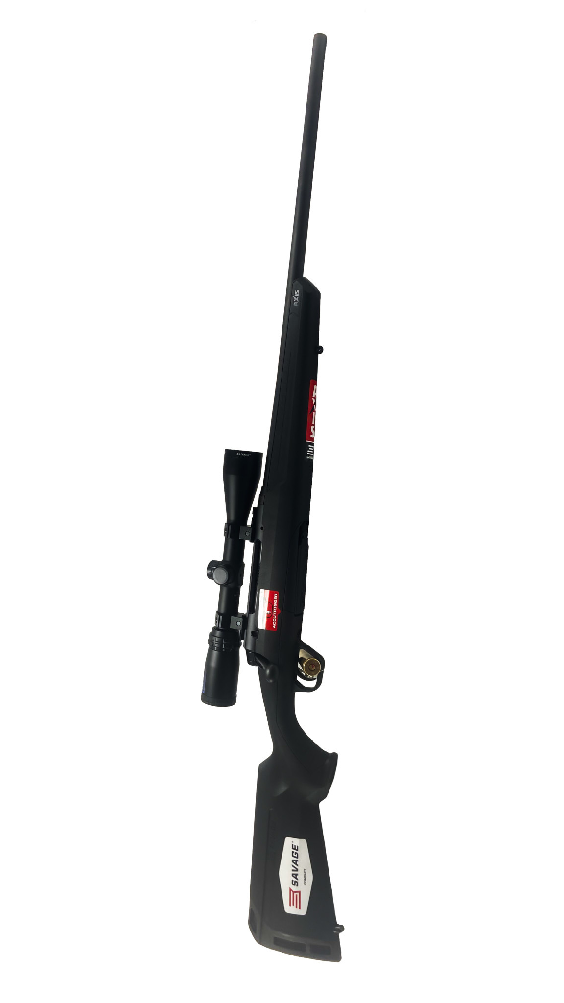 Savage Axis II XP 6.5 Creedmor Compact w/Bushnell Banner 3-9x40mm