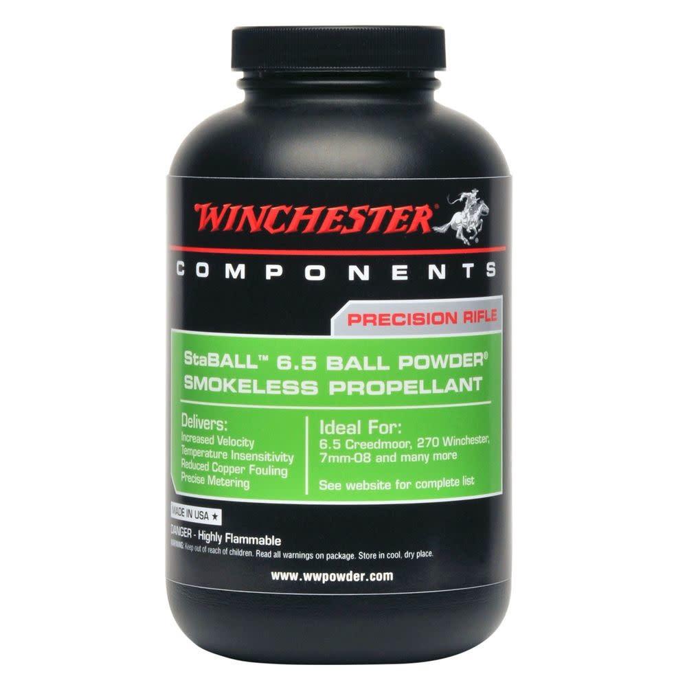 Winchester Staball 6.5 Ball Powder 1lb