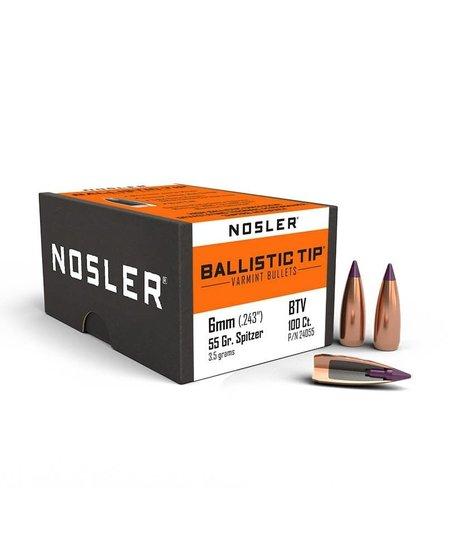 Ballistic Tip Varmint .243Dia 6mm 55gr (100pk)