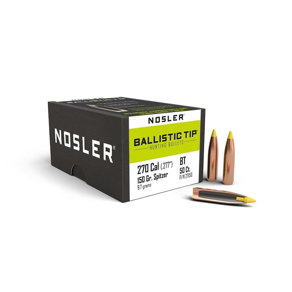 Nosler Nosler Ballistic Tip .270 Cal .277 Dia 150gr (50pk)