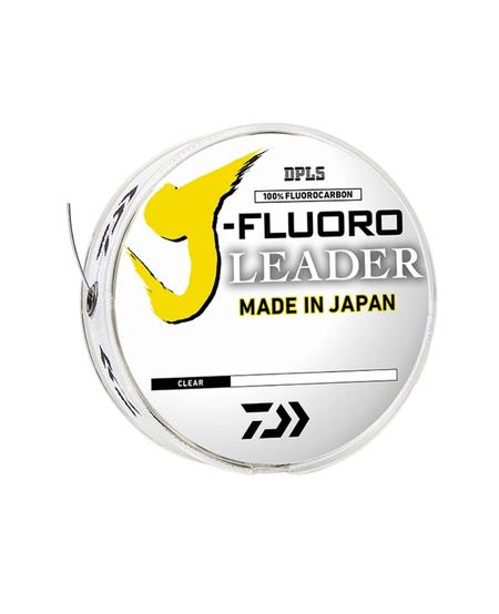 J-Fluoro Fluorocarbon Leader Line (Clear)