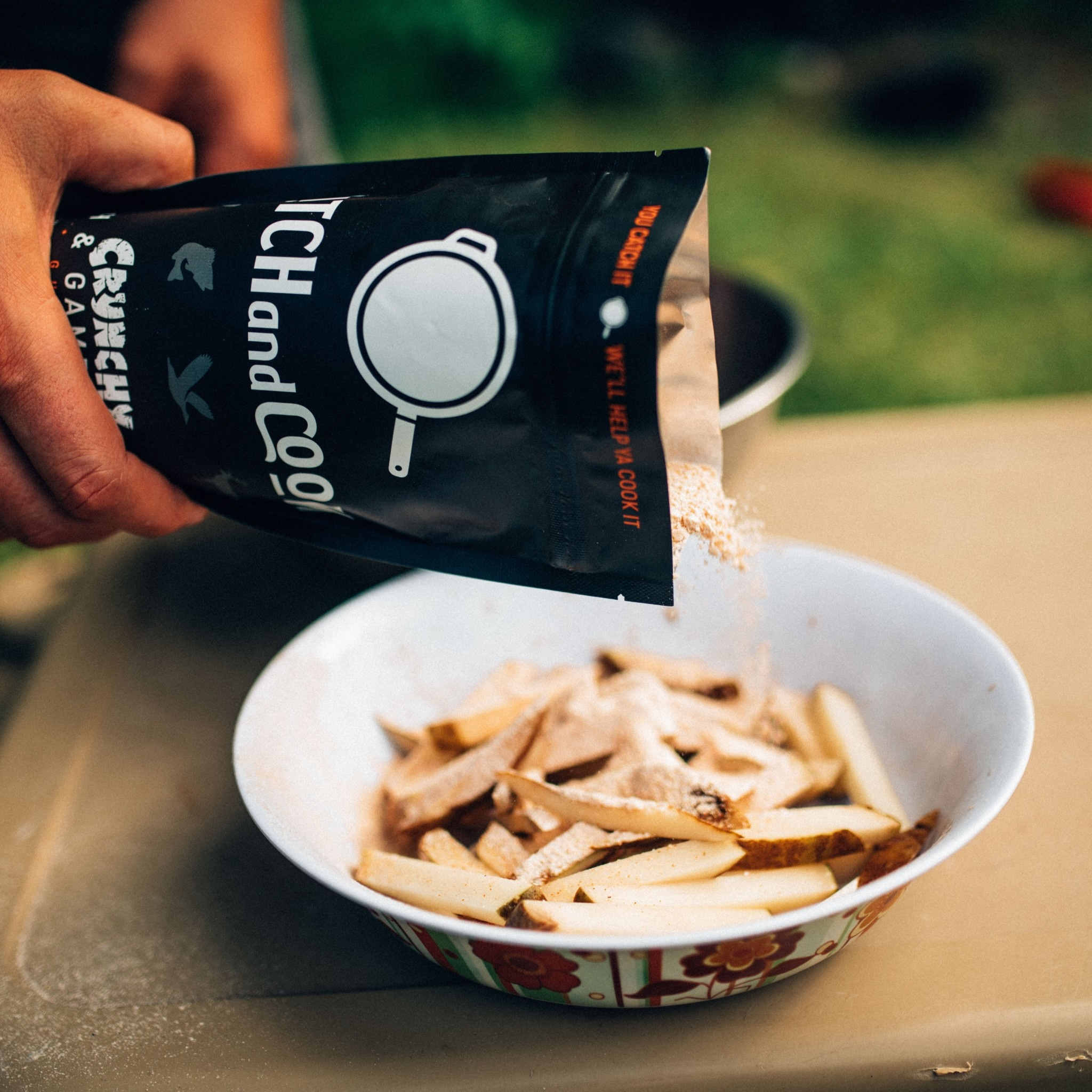 Catch and Cook Original Crunchy [Fish & Game Coating Mix]  340g