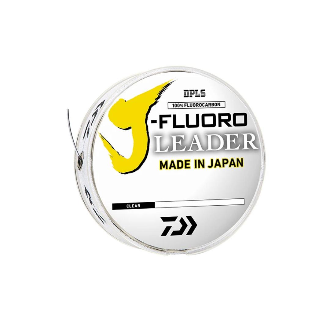 Daiwa J-Fluoro Fluorocarbon Leader Line (Clear)