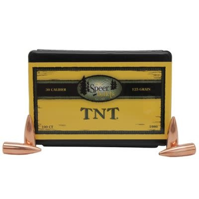 Speer Bullets TNT .30cal 125gr HP (100pk)