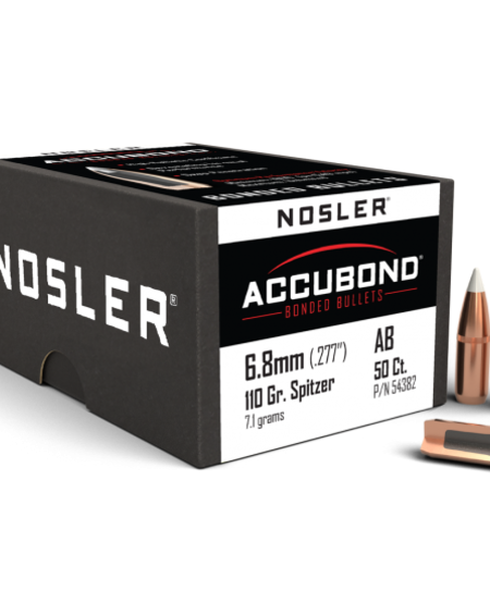 """Accubond 6.8mm .277"""" 110gr Spitzer (50ct)"""