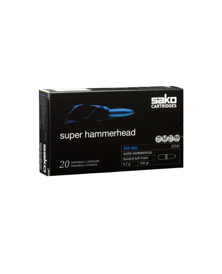 308Win 150gr Super Hammerhead Bonded Soft Point