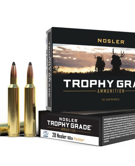 Trophy Grade 28 Nosler 160gr Partition (20rds)