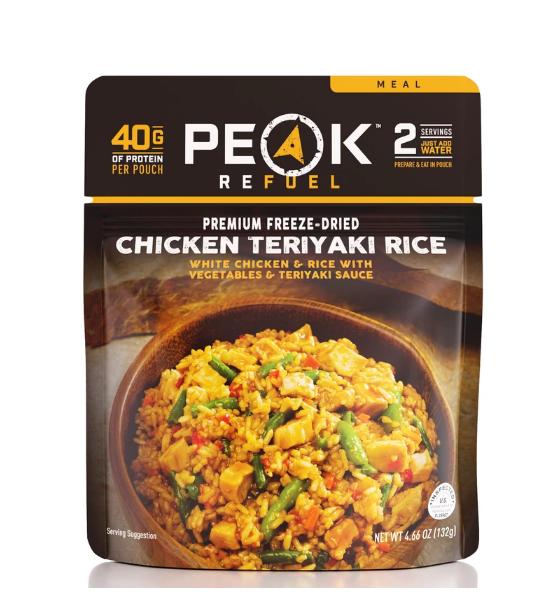 Peak Refuel Teriyaki Rice Meal