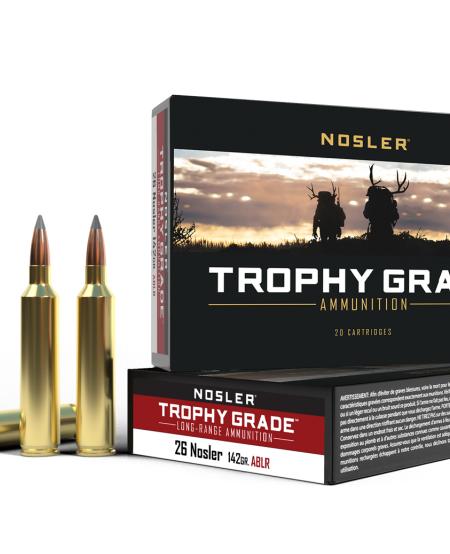 Trophy Grade 26 Nosler 142gr ABLR (20rds)