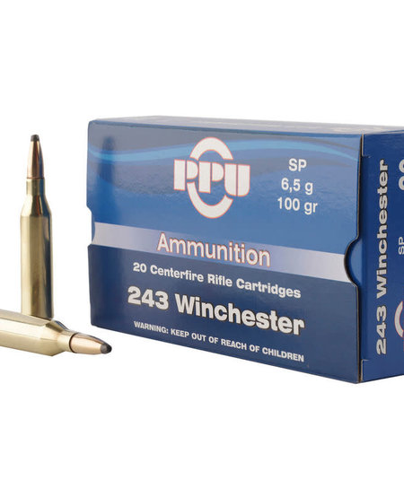 .243 Win 100gr SP (20rds)