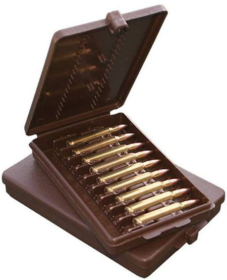 Rifle Ammo Wallet 9rd Brown .222 to 30-30Win