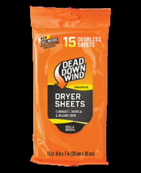 Scent Prevent Dryer Sheets (15pk)