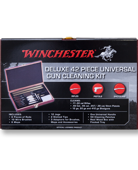 Deluxe 42 Piece Universal Gun Cleaning Kit