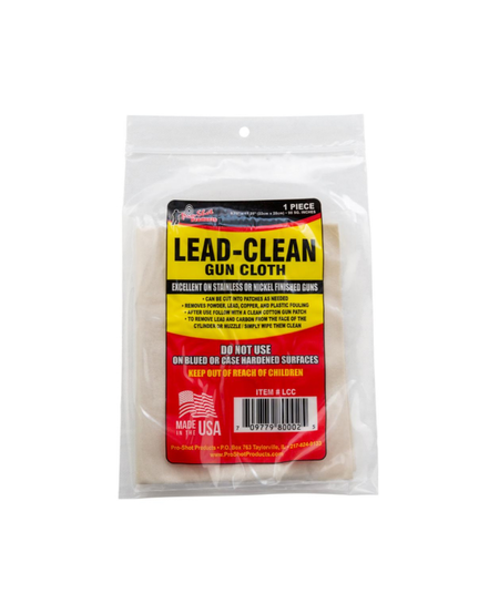 Lead Clean Gun Cloth (For Slainless and Nickel Guns Only)
