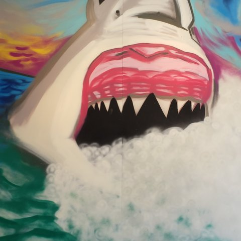 Dunun-Dunun, 7' x 6', XL Painting, One Of A Kind, Hand Made