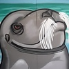 Snub-Nose, 7' x 6', XL Painting, One Of A Kind, Hand Made