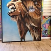 Monster, 7' x 6', XL Painting, One Of A Kind, Hand Made