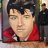 TheKing, 7' x 6', XL Painting, One Of A Kind, Hand Made