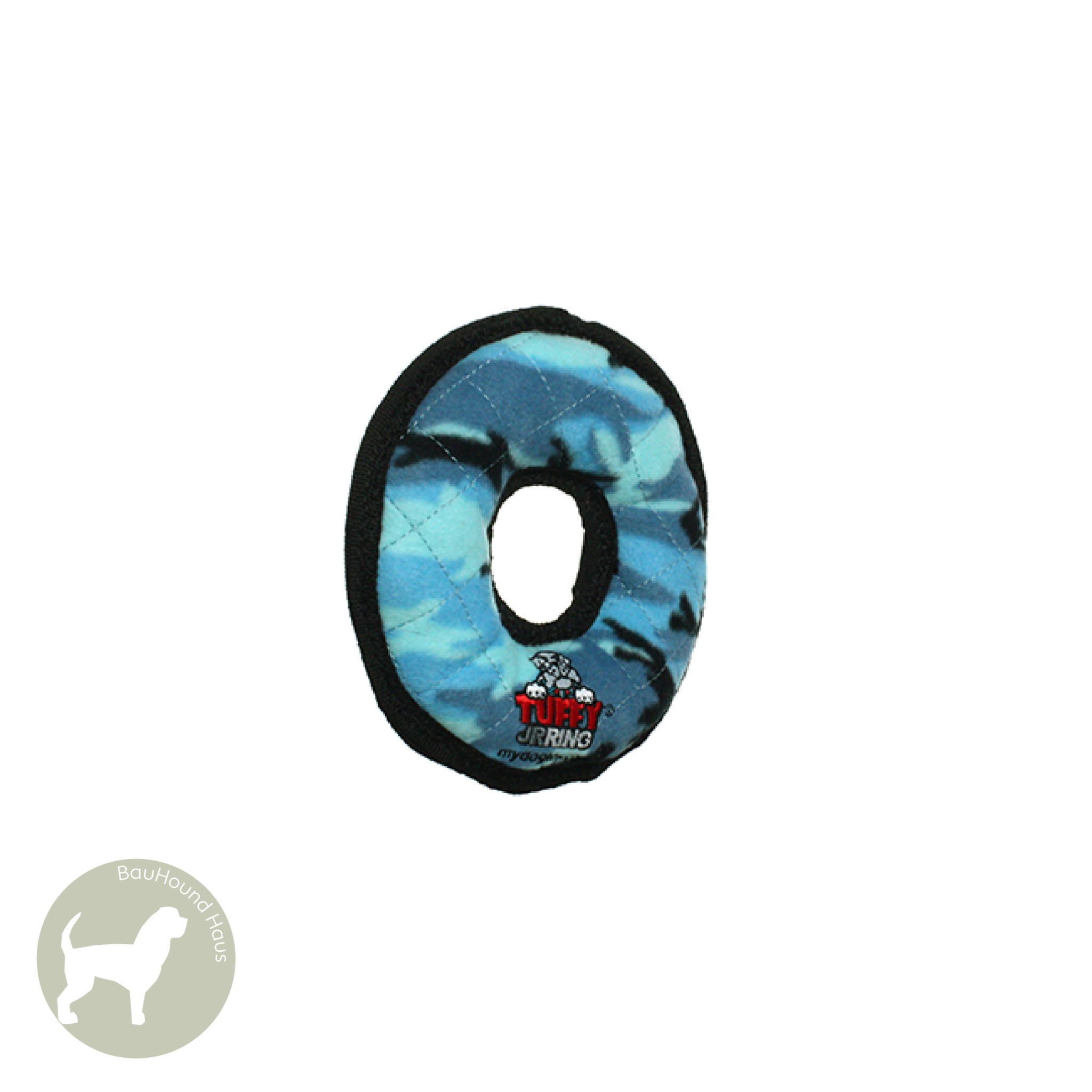 VIP Pet Products Tuffy Dog Toy Ultimate Ring, Blue
