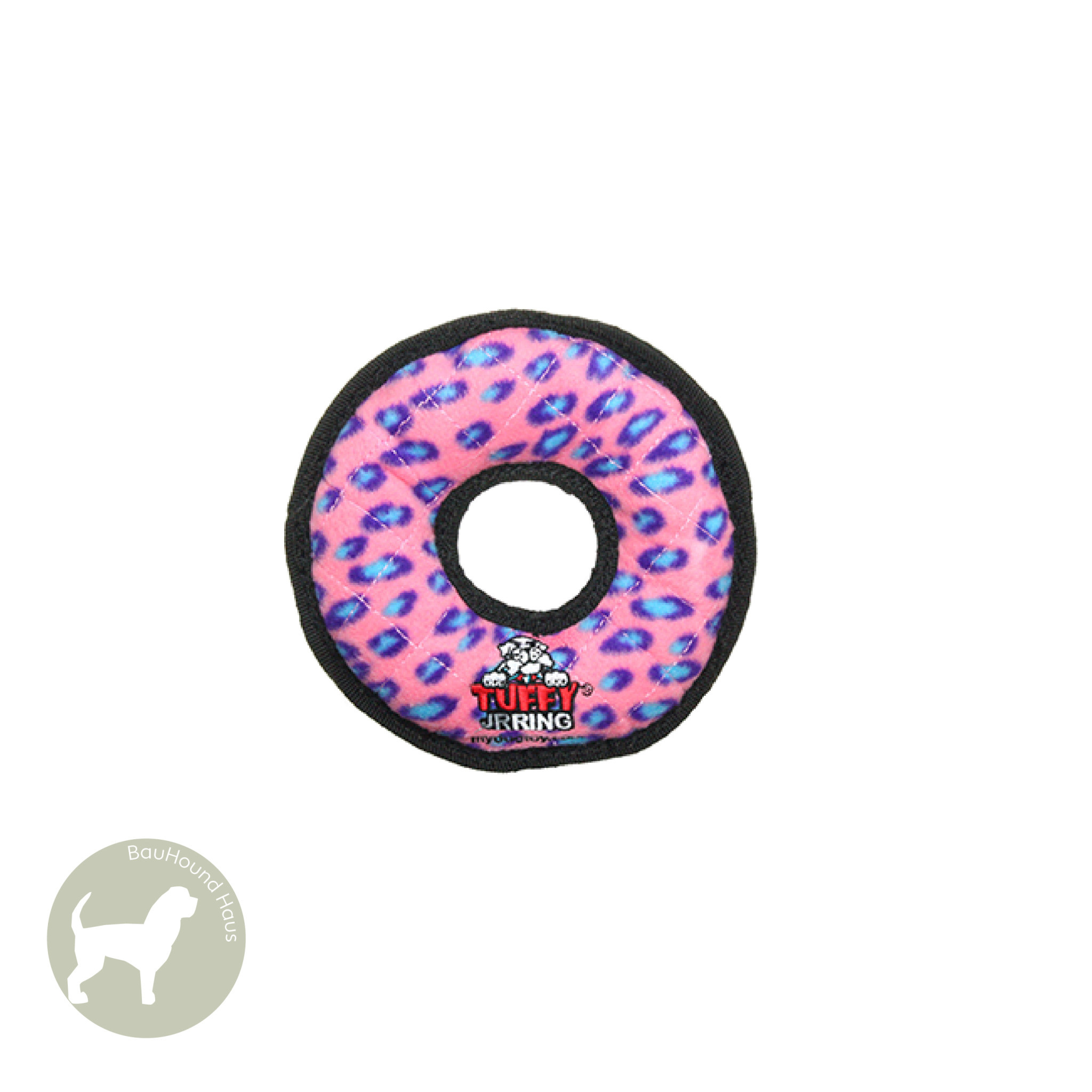 VIP Pet Products Tuffy Dog Toy Ultimate Ring, Pink