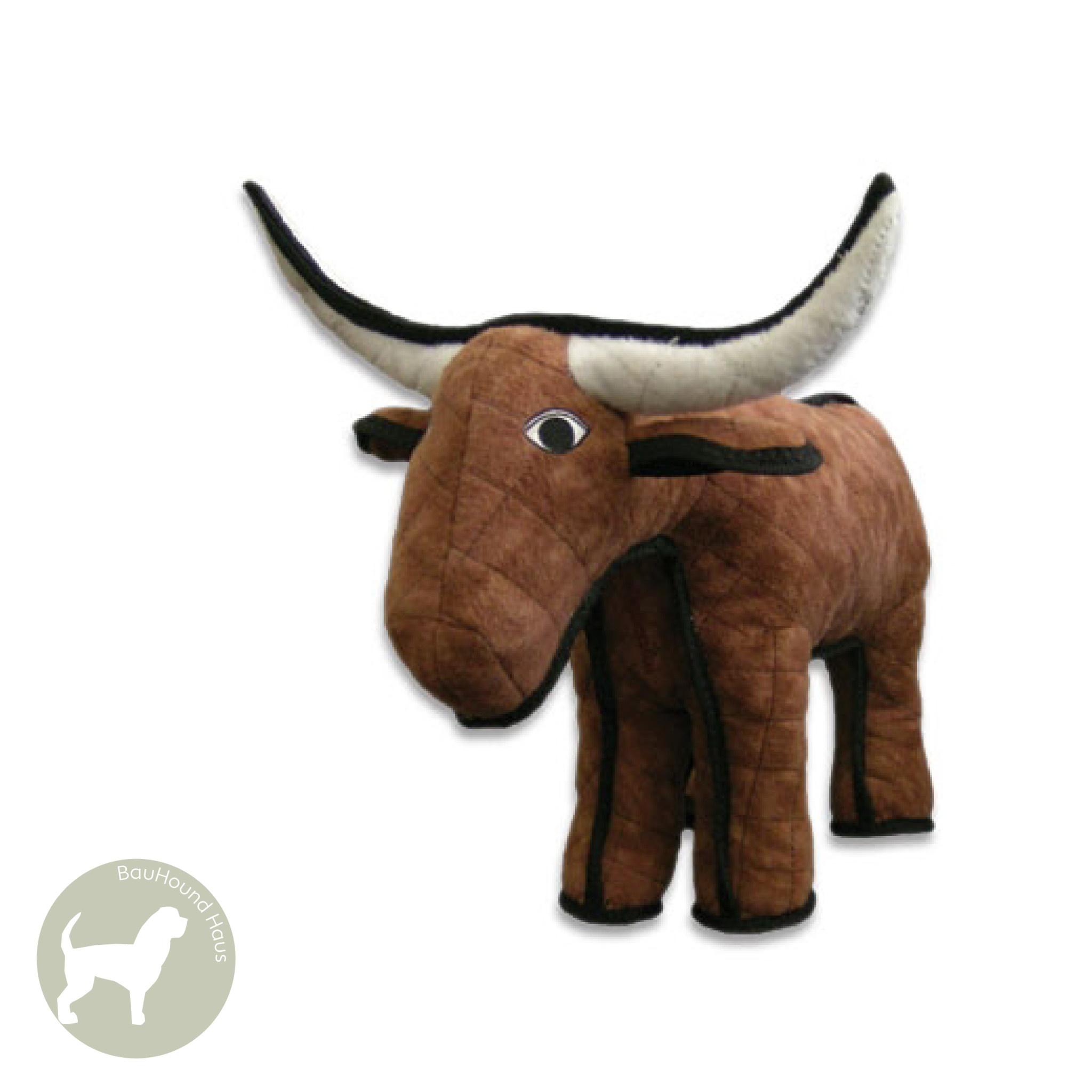 VIP Pet Products Tuffy Jr. Barnyard Series Bevo Bull