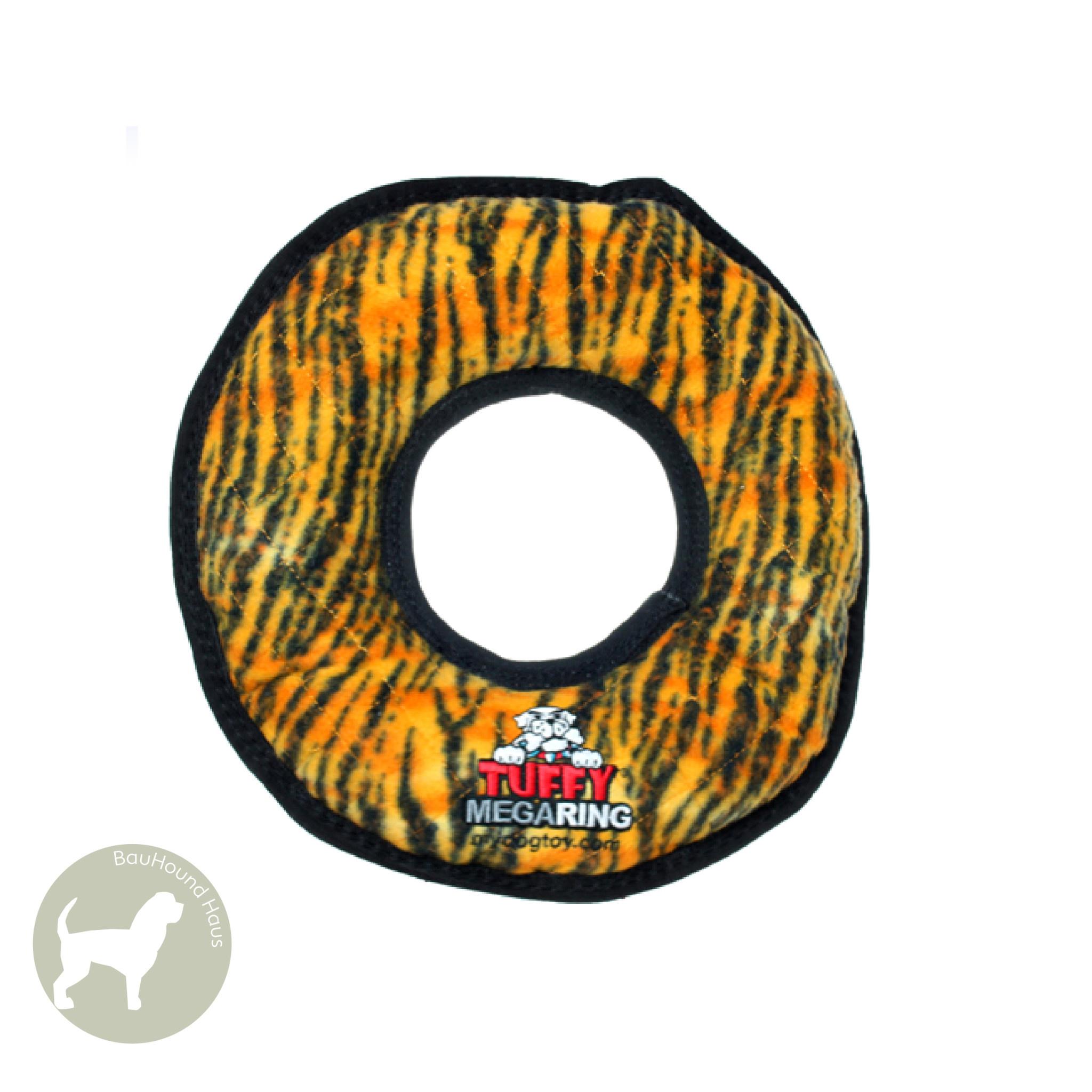 VIP Pet Products Tuffy Mega Rumble Ring Tiger