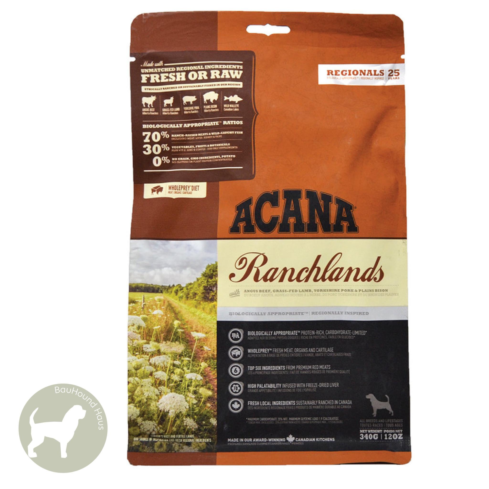 Acana Acana REGIONALS Ranchlands Kibble, 11.4kg