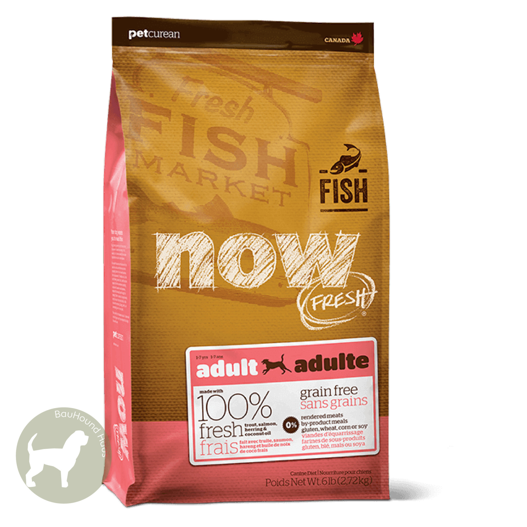 Now! Now! Fresh Fish Adult Kibble, 25lb