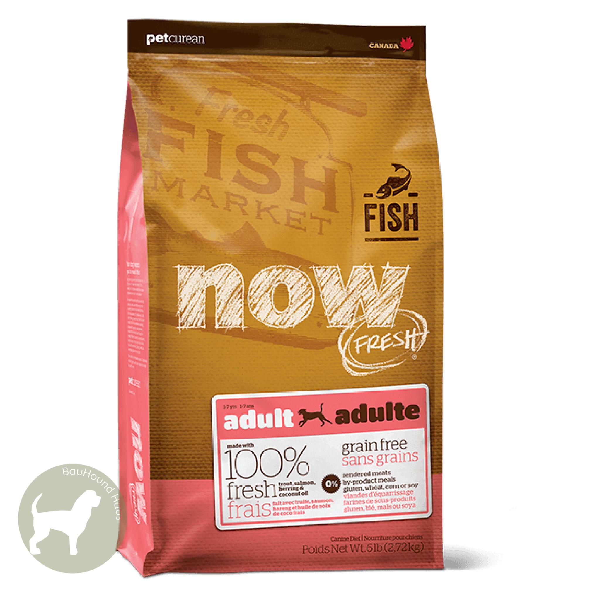 Now! Now! Fresh Fish Adult Kibble, 3.5lb