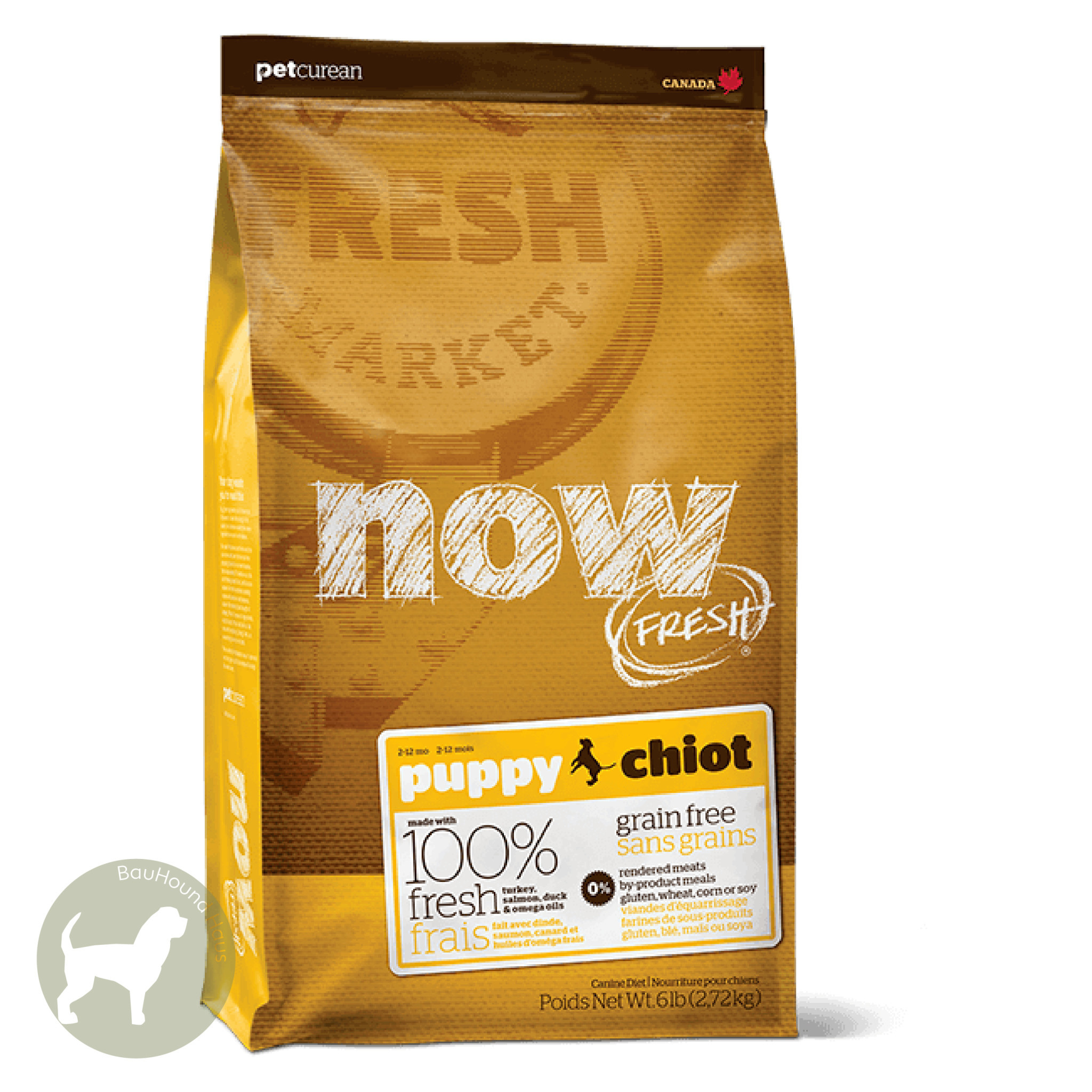 Now! Now! Fresh Puppy Kibble, 25lb