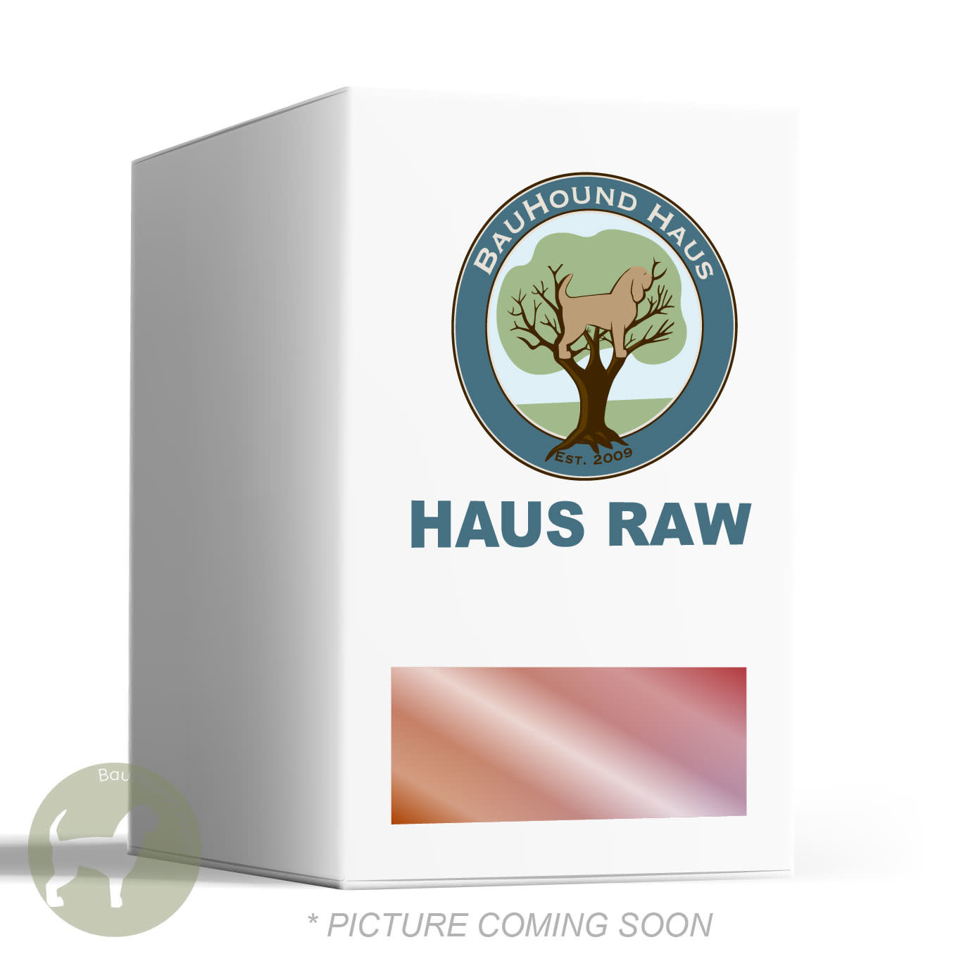 BauHound Haus BauHound Haus RAW Beef Dog Food, 4lb