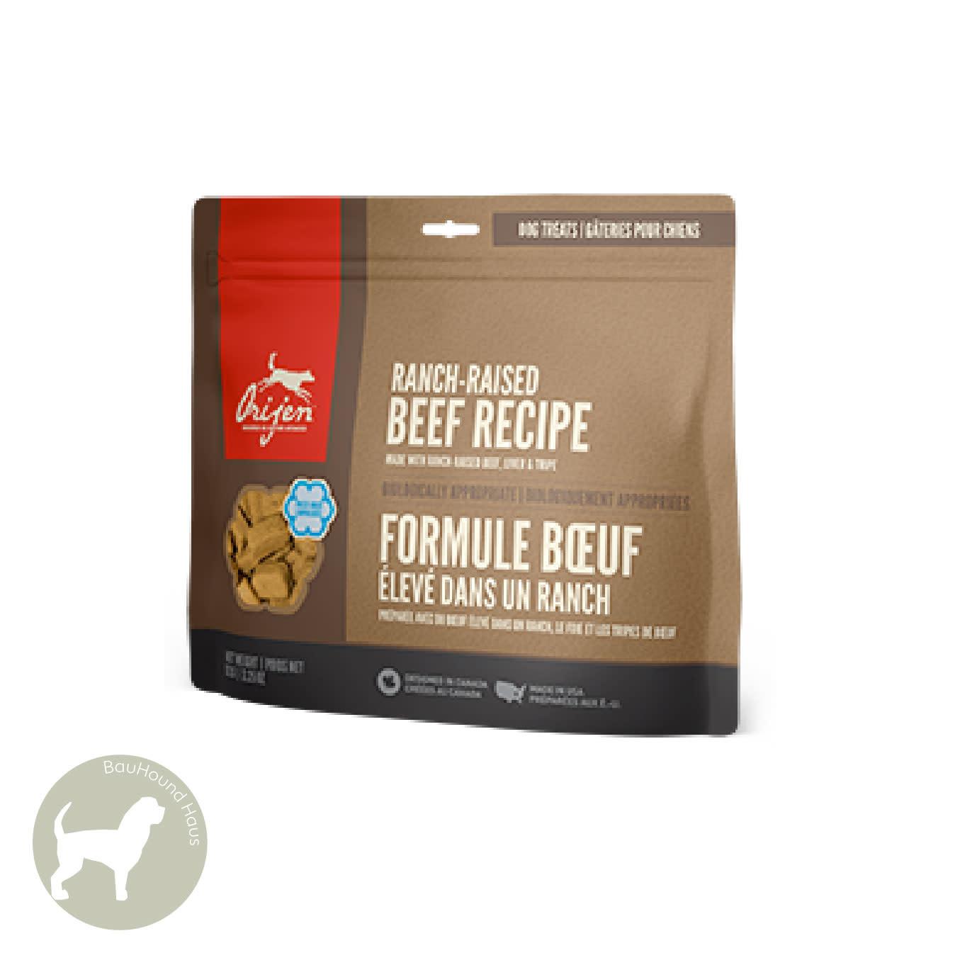 Orijen Orijen Freeze Dried Ranch Raised Beef Recipe Treat, 3.25 oz
