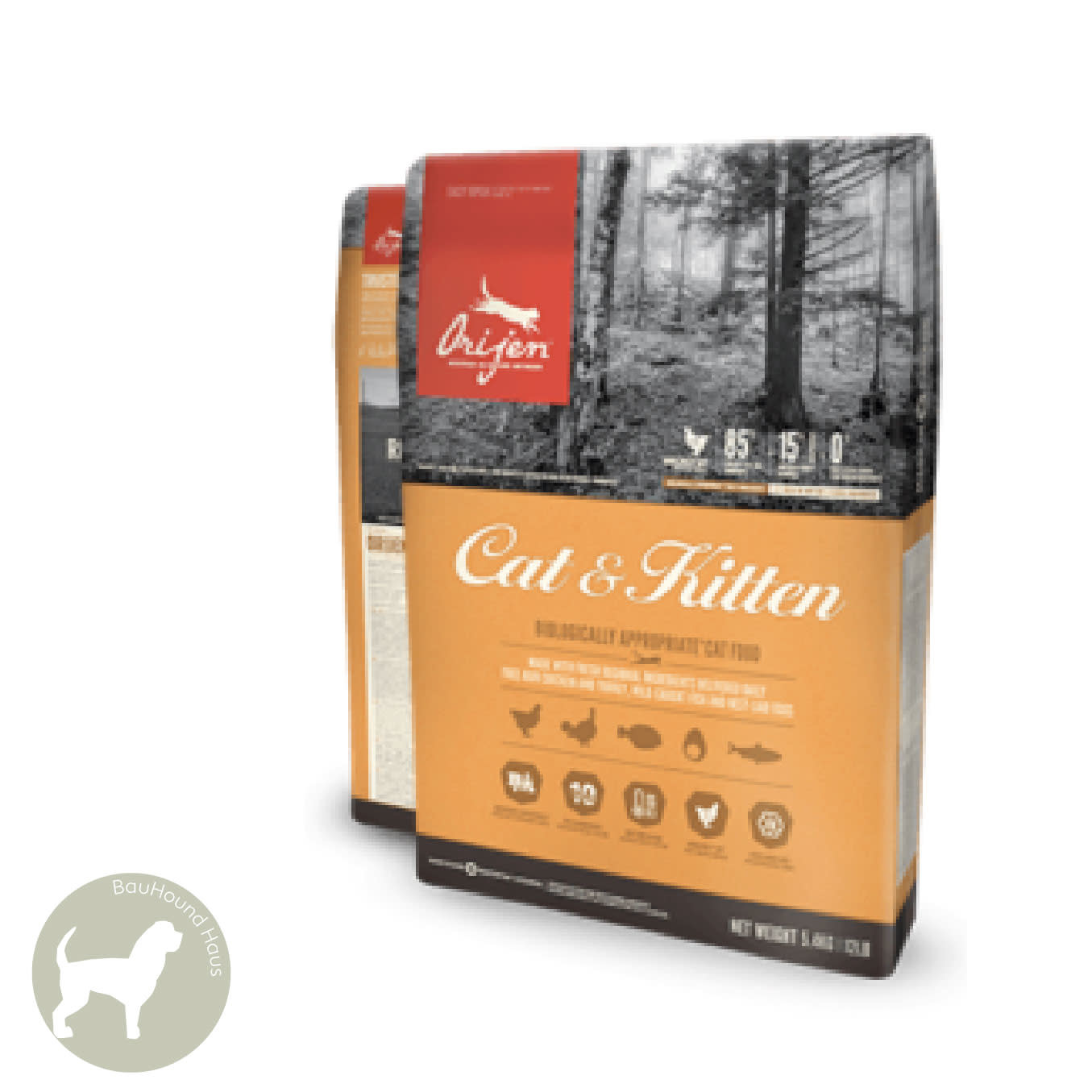 Orijen Orijen CAT and Kitten Kibble, 1.8kg