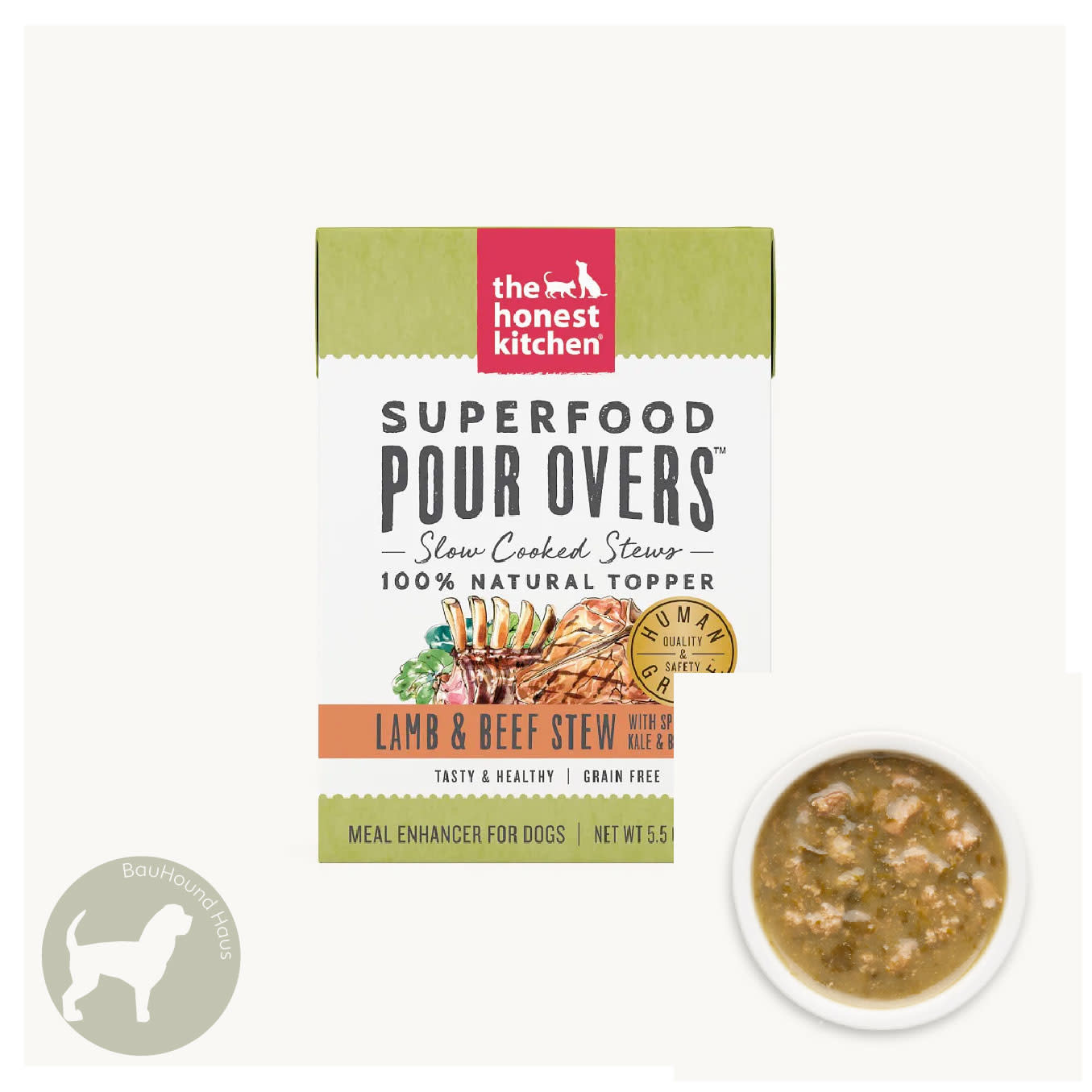 Honest Kitchen Honest Kitchen Pour Overs Lamb & Beef Stew Superfood, 5.5oz