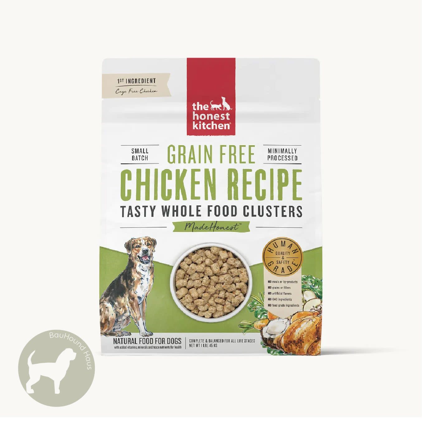 Honest Kitchen Honest Kitchen Whole Food Clusters Chicken Recipe, 20lb