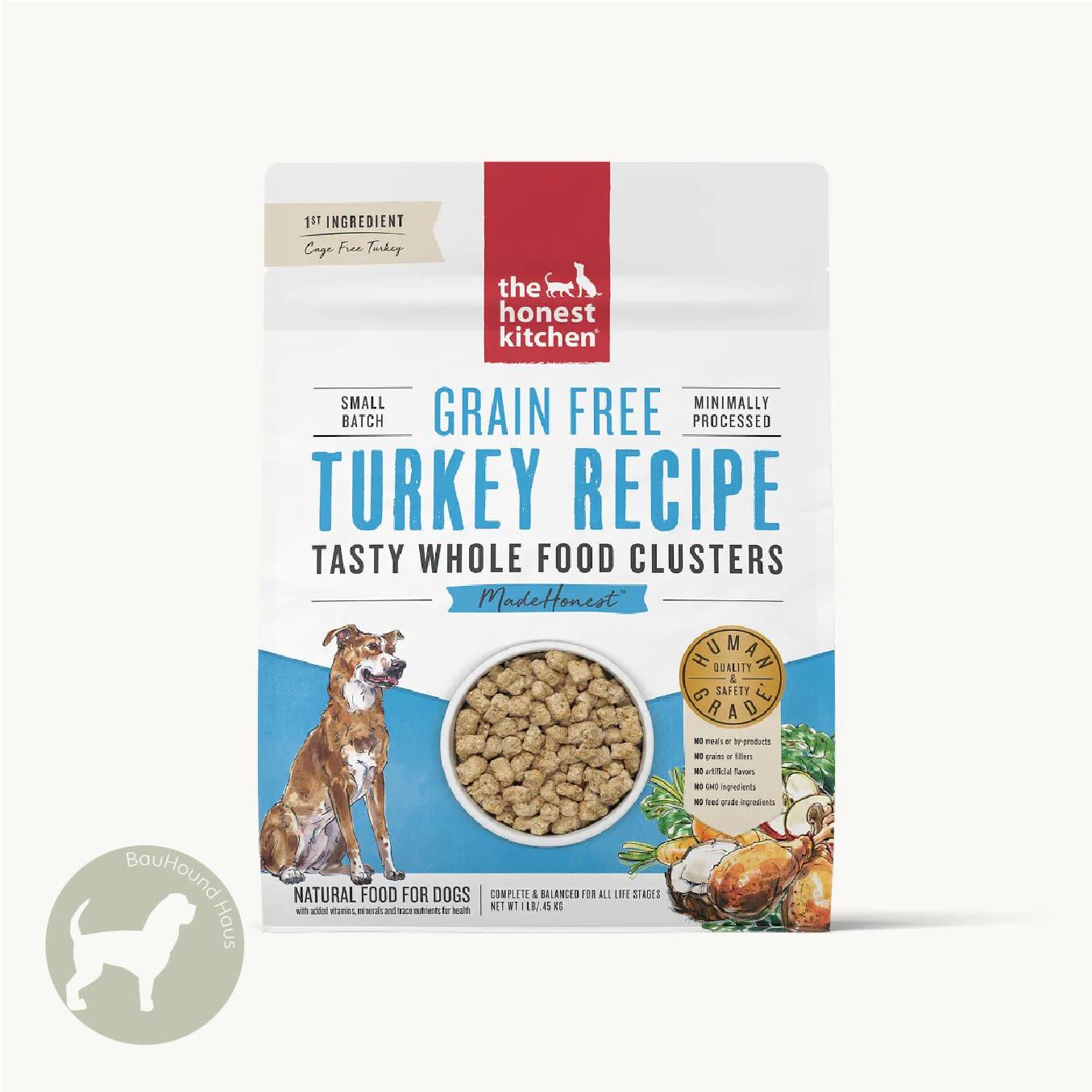 Honest Kitchen Honest Kitchen Whole Food Clusters Turkey Recipe, 1lb