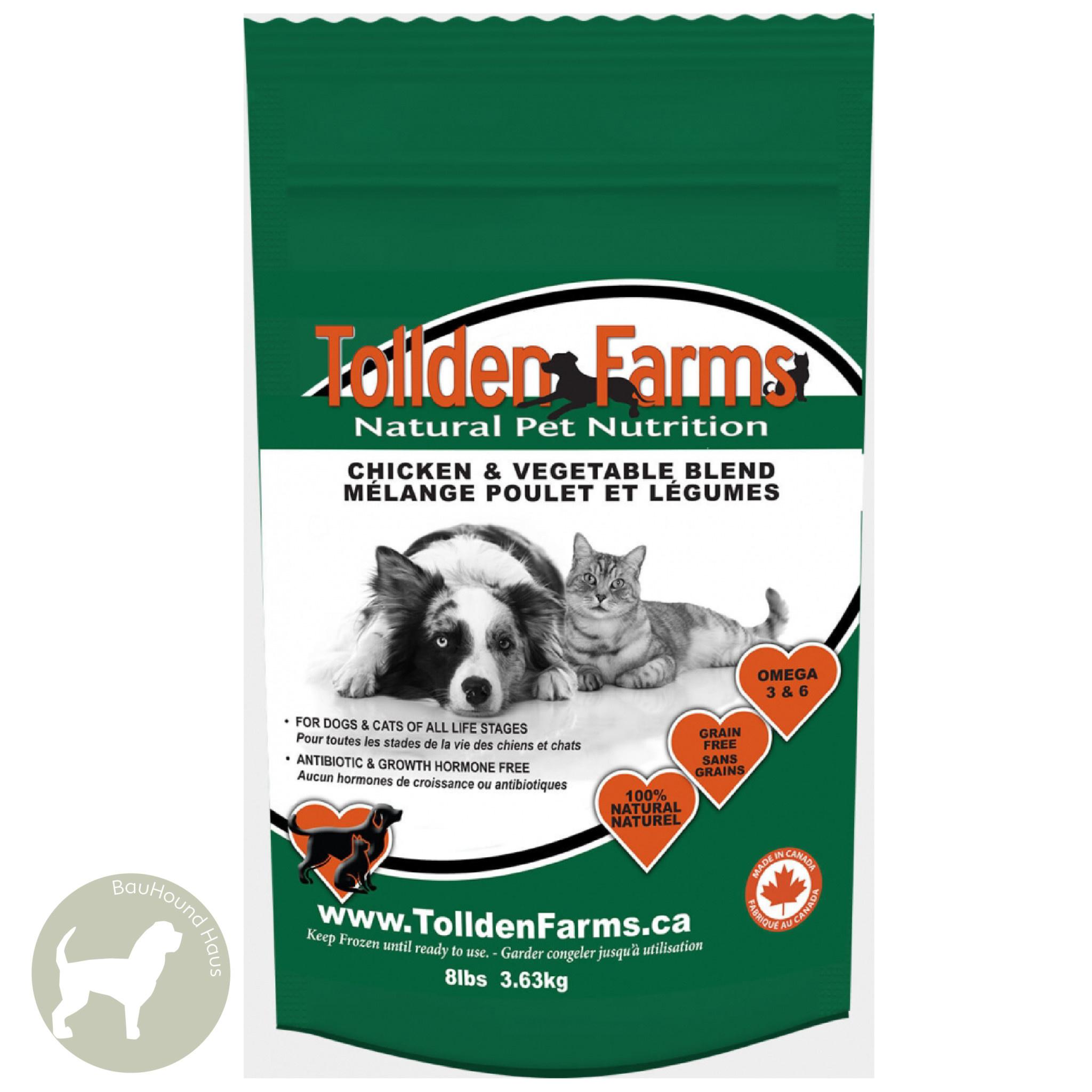 Tollden Farms Tollden Farms Meat & Veggies Chicken Patties, 3lb