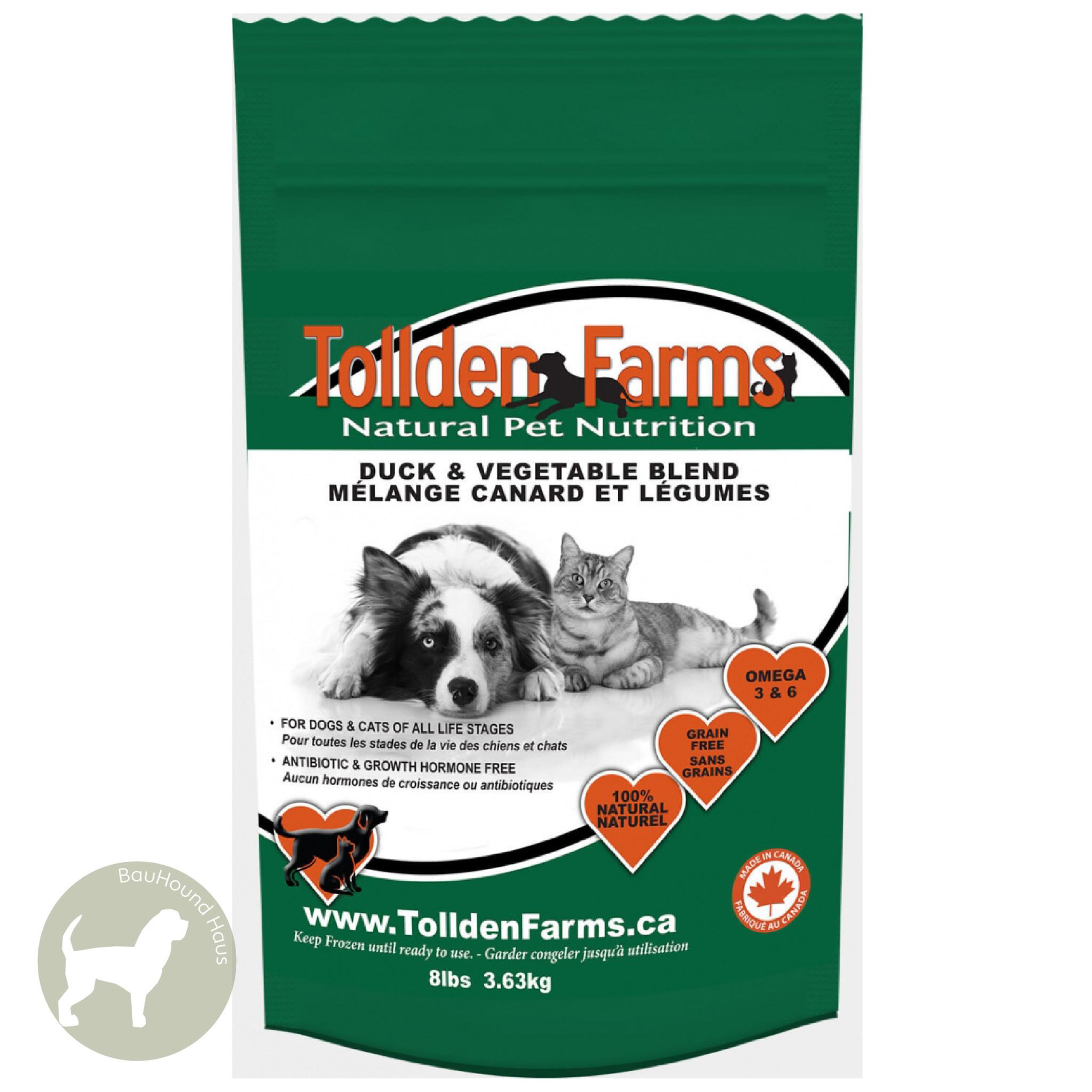 Tollden Farms Tollden Farms Meat & Veggies Duck Patties, 3lb