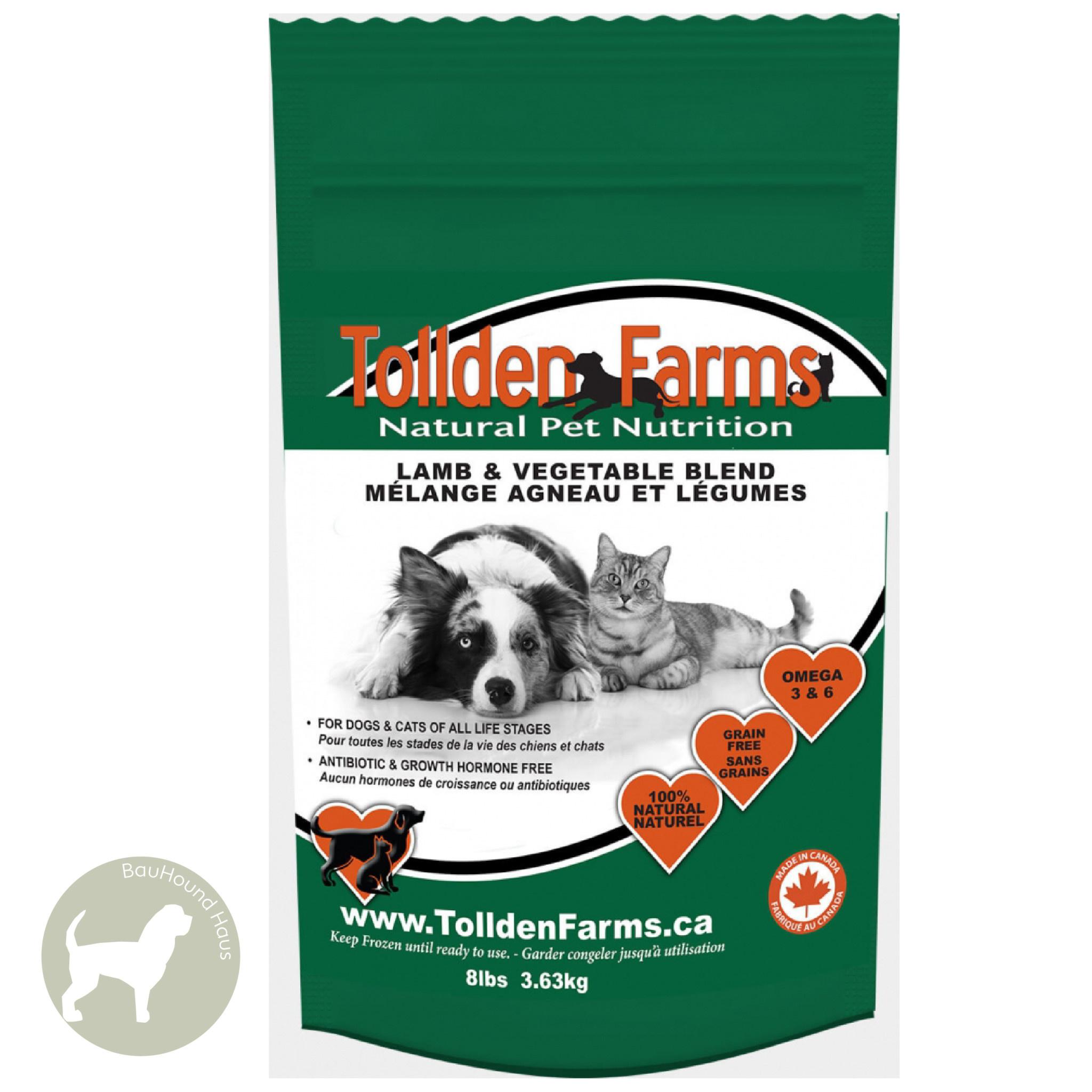 Tollden Farms Tollden Farms Meat & Veggies Lamb Patties, 3lb