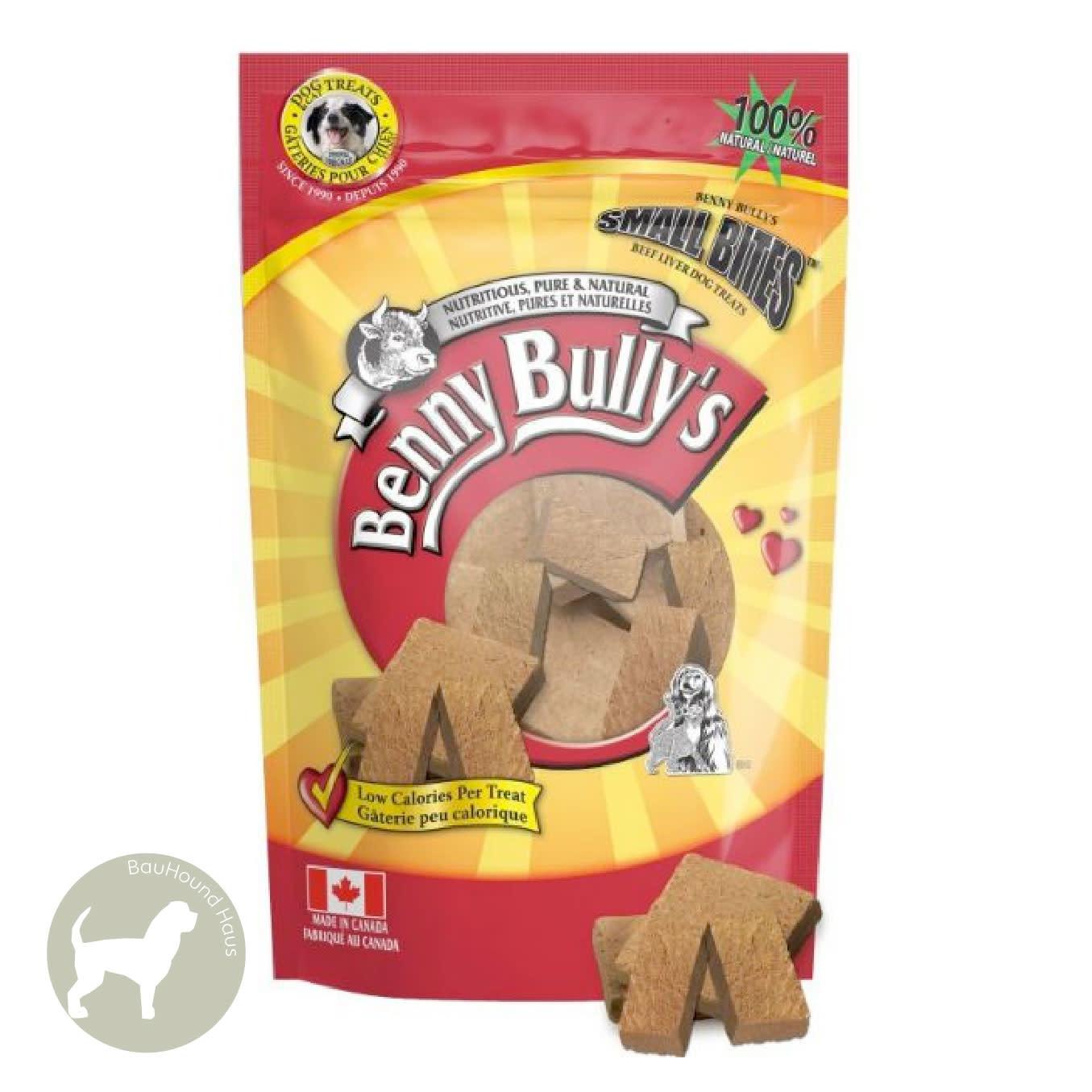 Benny Bully's Benny Bully's Small Bites Beef Liver Treats, 260g