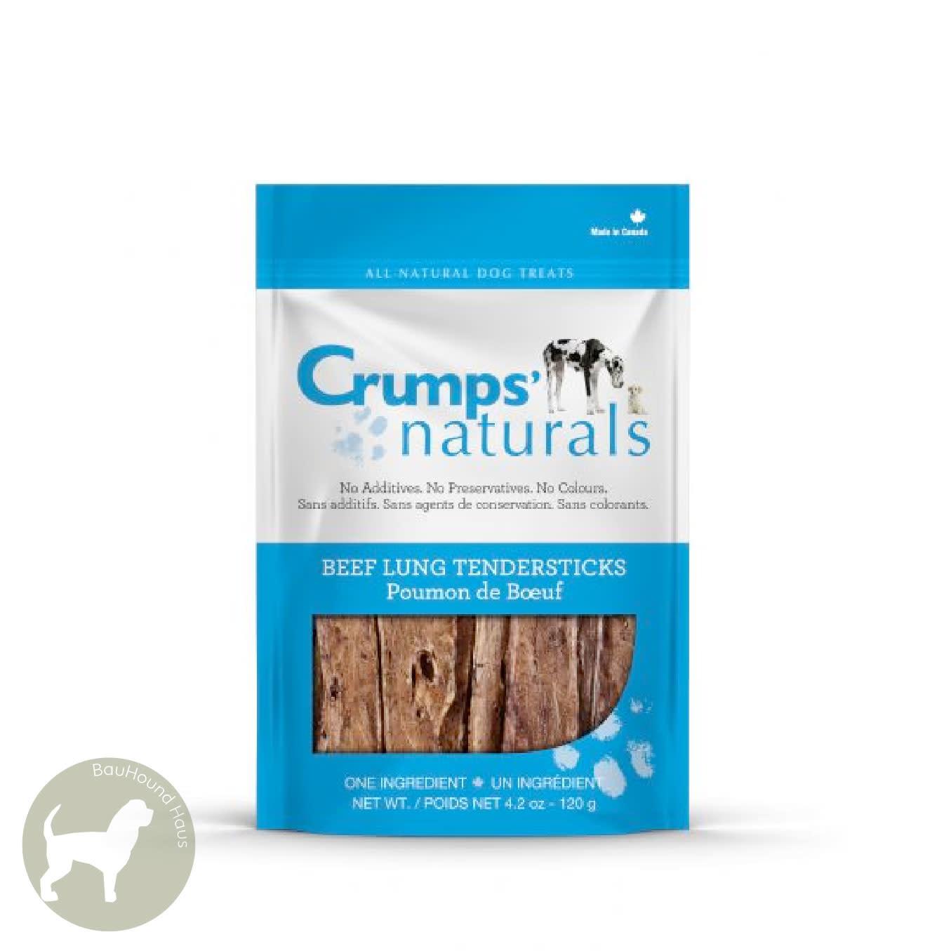 Crumps Crumps Natural Beef Lung Tendersticks, 120g