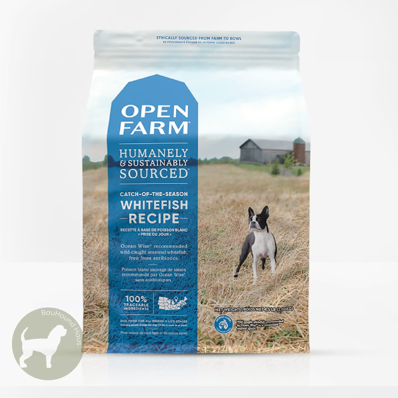 Open Farm Open Farm CATCH-OF-THE-DAY White Fish & Green Lentils Kibble, 4.5lb