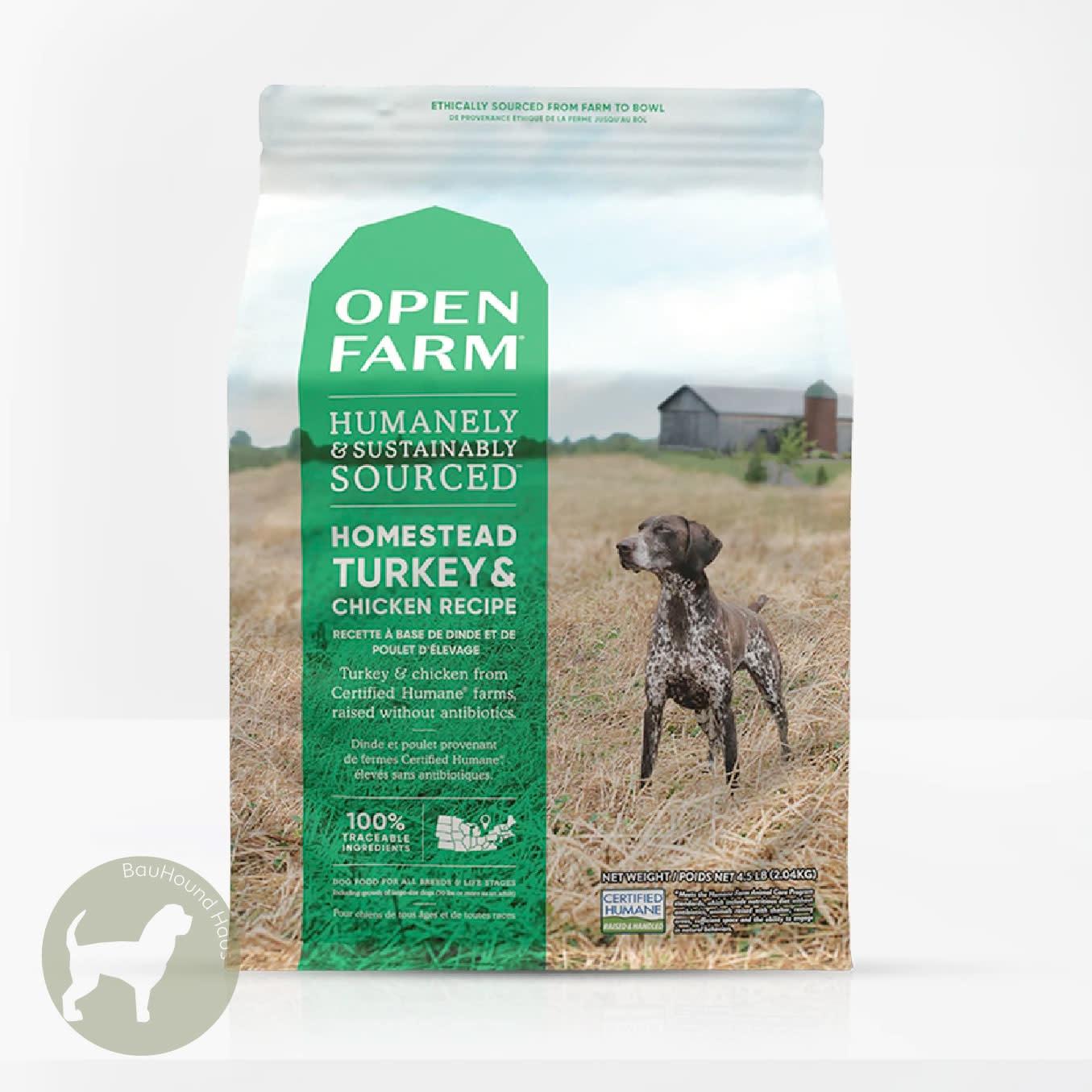Open Farm Open Farm Homestead Turkey & Chicken Kibble, 12lb