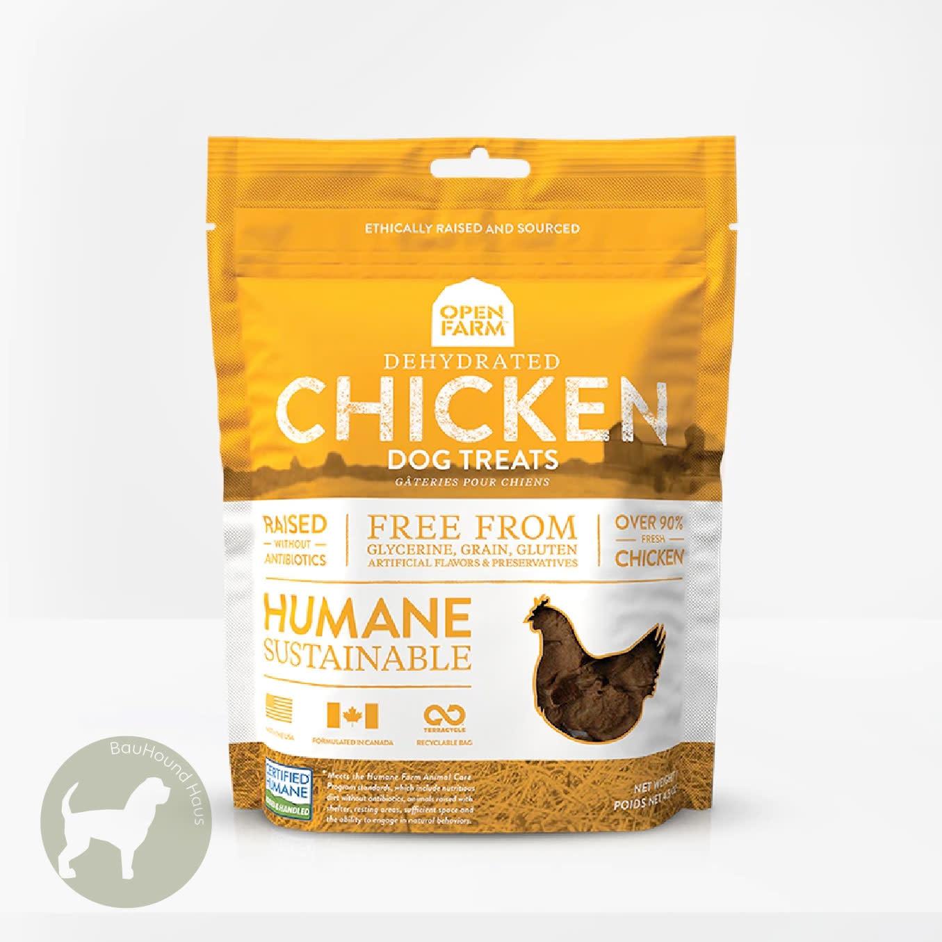 Open Farm Open Farms Dehydrated Chicken Dog Treat, 4.5oz