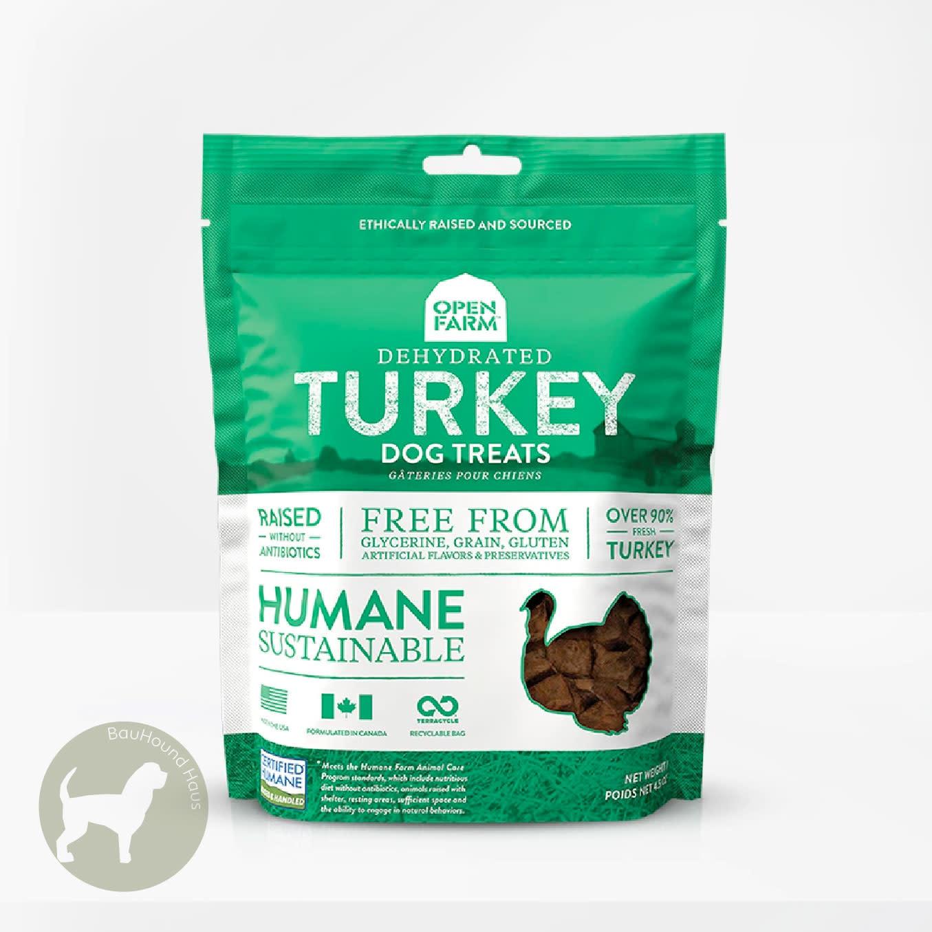Open Farm Open Farms Dehydrated Turkey Dog Treat, 4.5oz