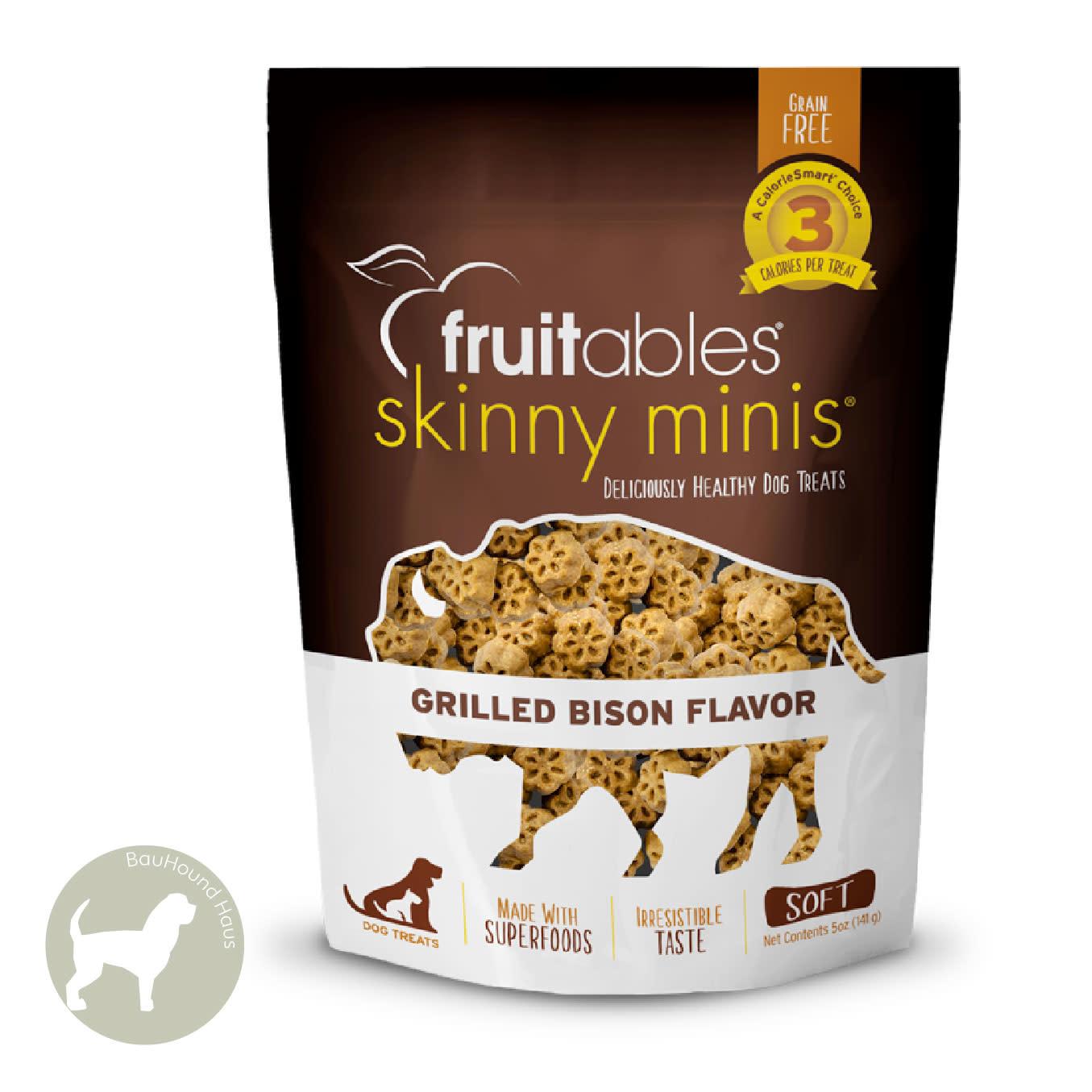 Fruitables Fruitables Skinny Mini's Grilled Bison, 5oz