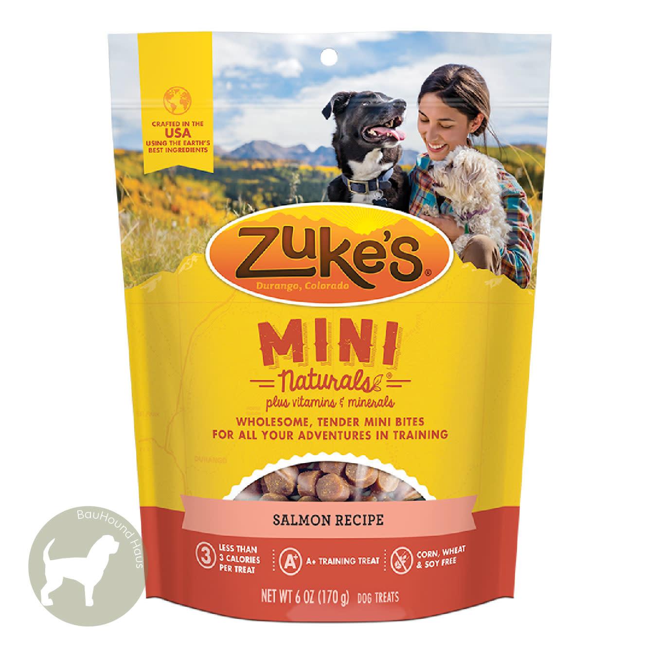 Zukes Zukes Mini Naturals Salmon Treats, 6oz