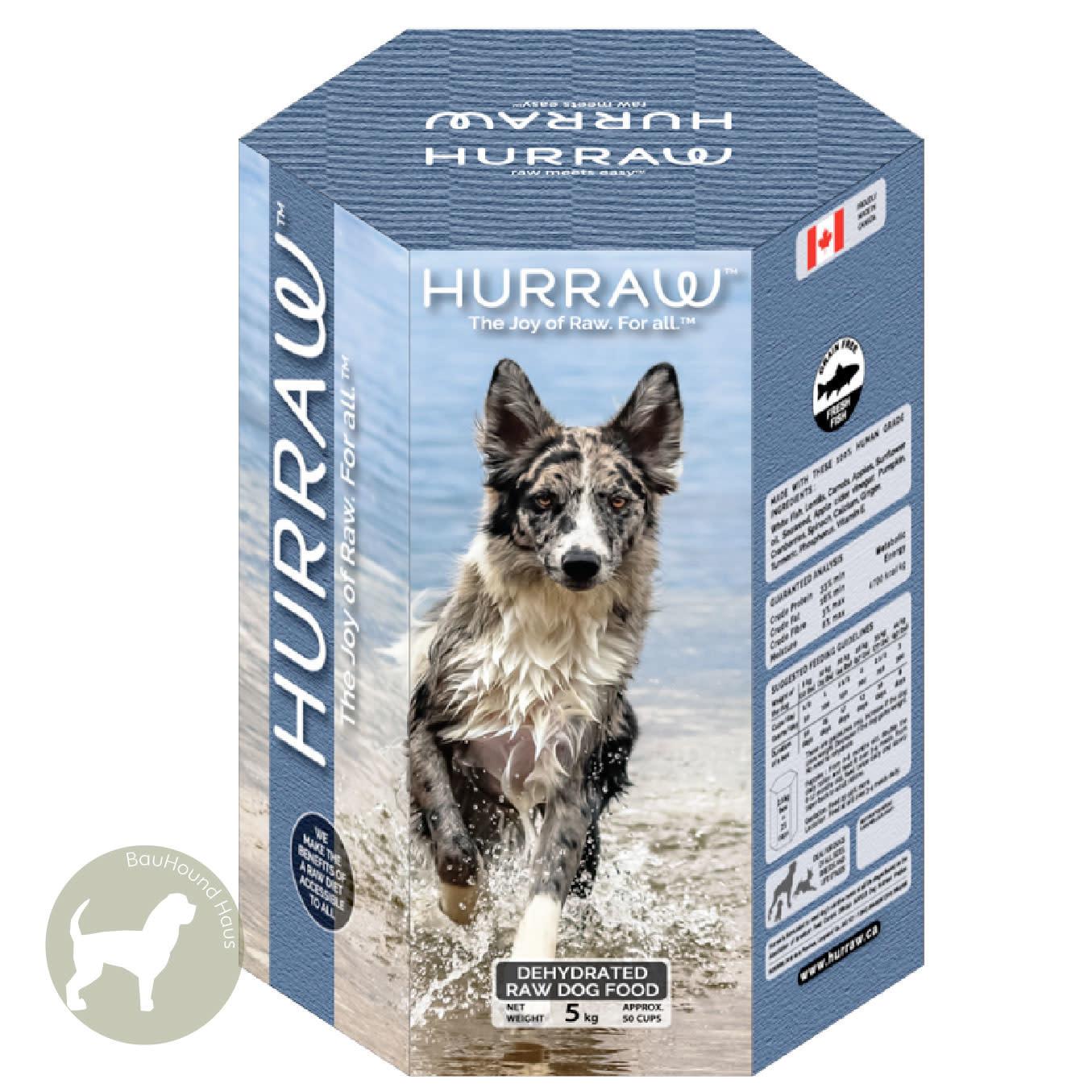 Hurraw Hurraw Dehydrated Raw Dog Food FRESH FISH, 2.5kg