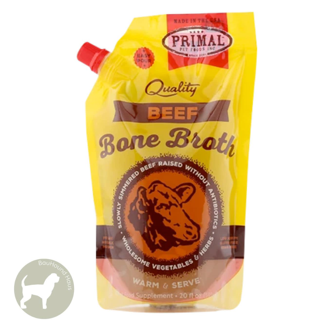 Primal Pet Foods Primal Bone Broth Beef, 591ml
