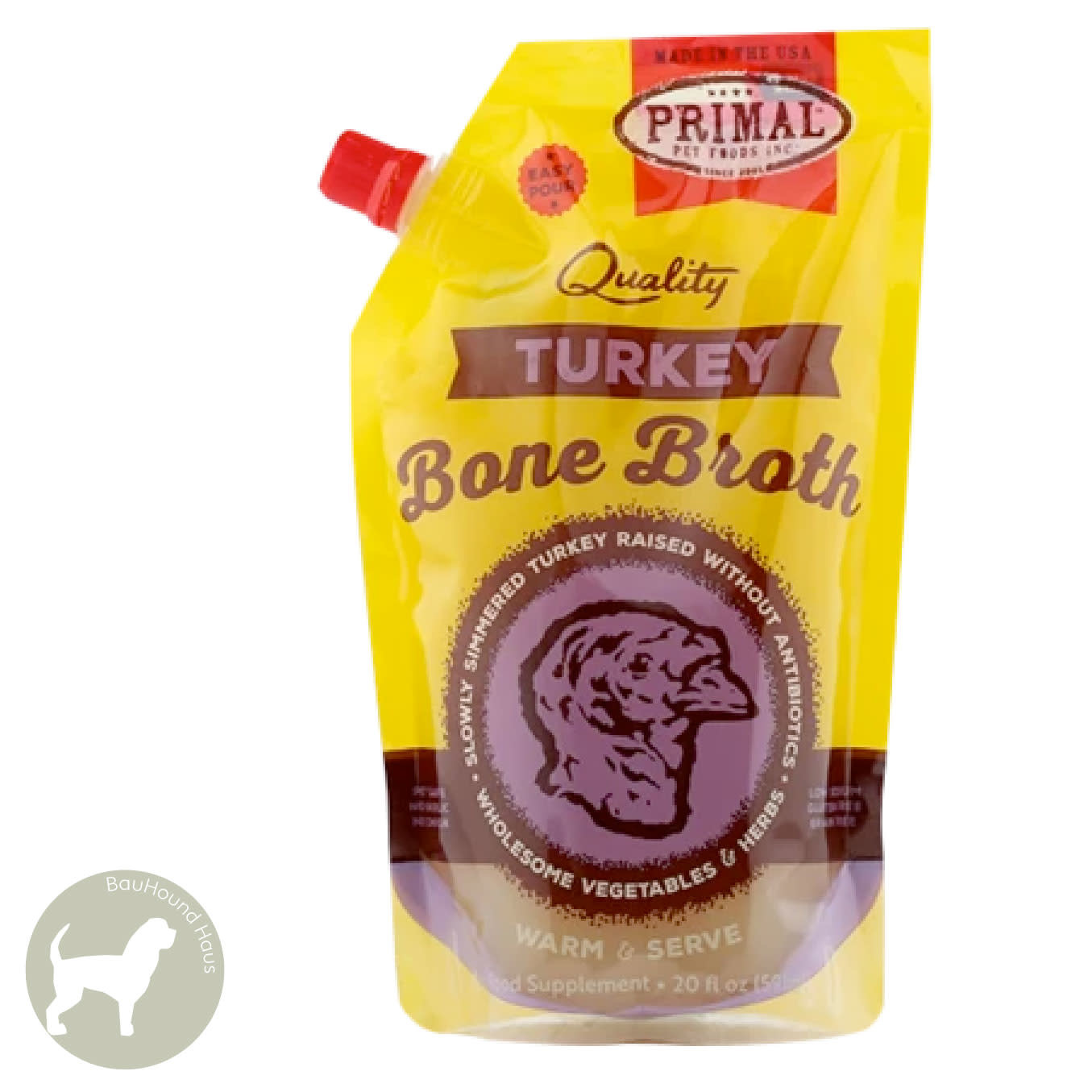 Primal Pet Foods Primal Bone Broth Turkey, 591ml